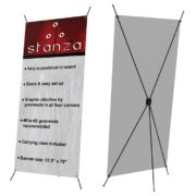 STANZA ECONOMICAL TRI-STAND BANNER STAND | DecalSF.com