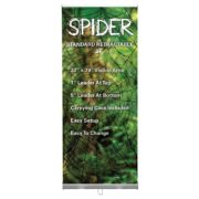 SPIDER ECONOMICAL RETRACTABLE BANNER STAND | DecalSF.com