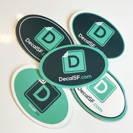 OVAL DECALS | DecalSF.com