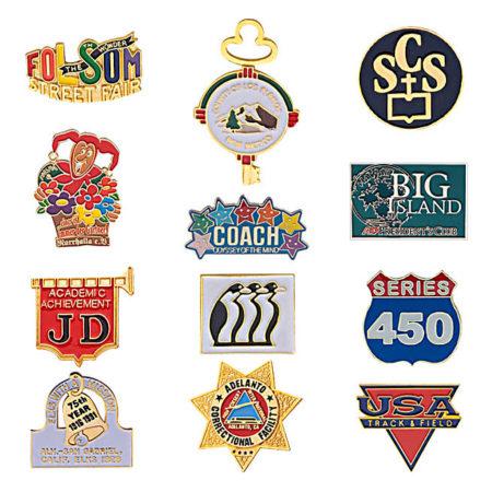 SOFT ENAMEL PINS / CLOISONNE LAPEL PINS | DecalSF.com